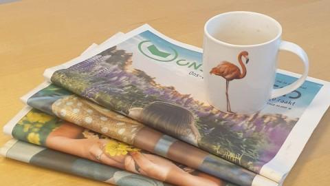 Schrijf mee aan de krant en het online platform Ons Hoorn!