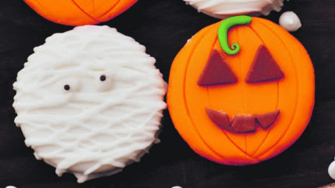 Halloween Cookies maken