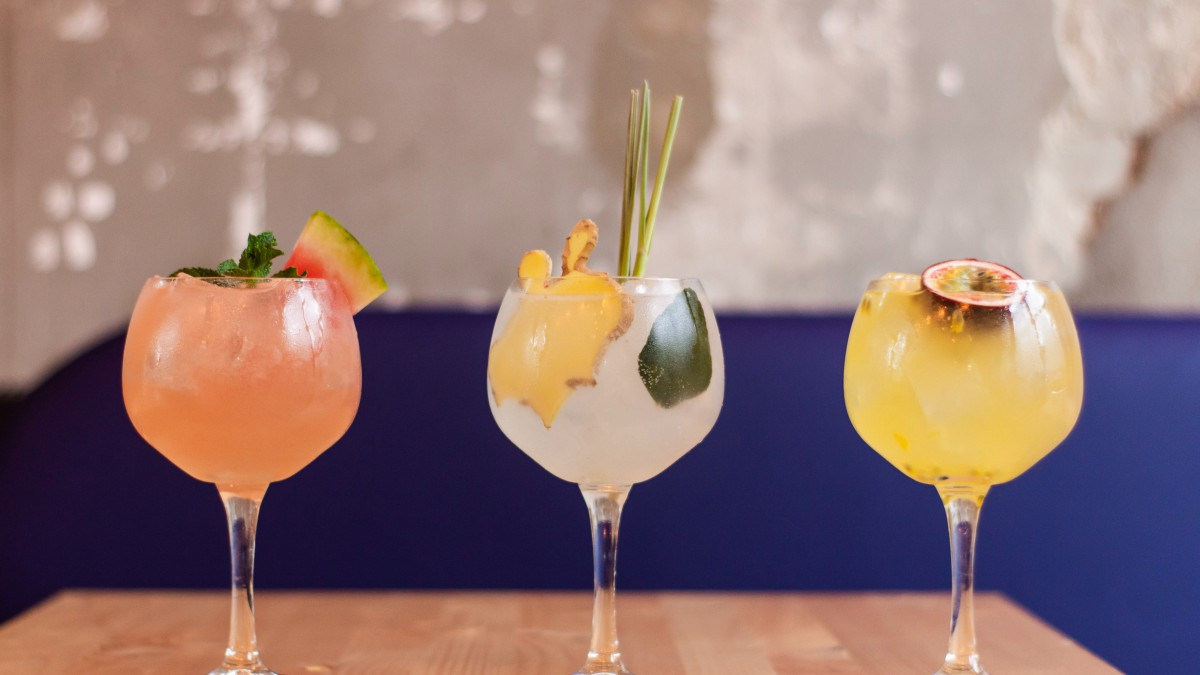 Zomerse cocktail