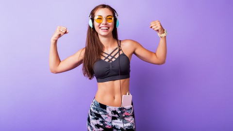Home fitness workout voor beginners