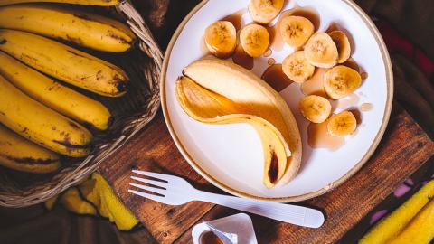 Manieren om bananen te eten om af te vallen